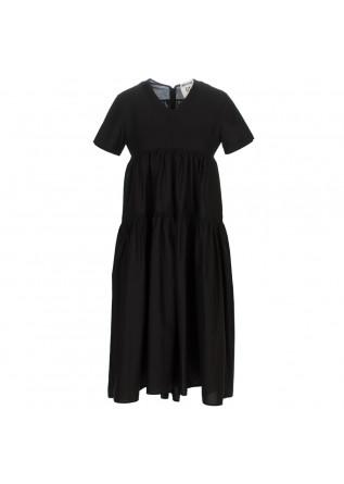 abito donna semicouture nero lungo