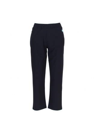 womens pants save the duck milan blue