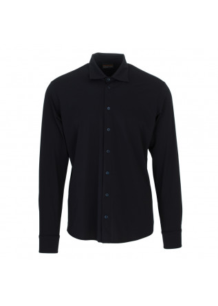mens shirt save the duck william dark blue