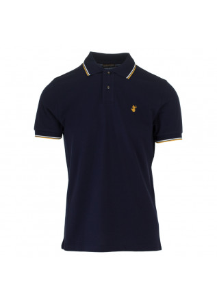 mens polo save the duck richard blue