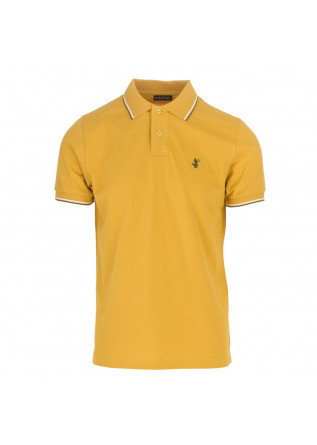 mens polo save the duck richard yellow