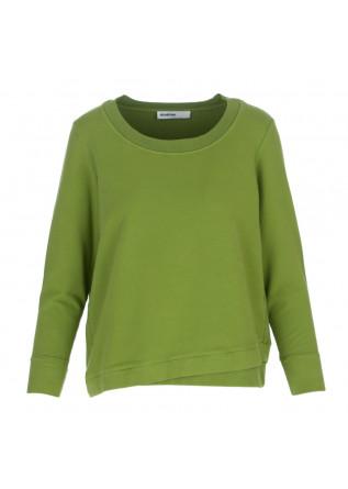 women's sweatshirt bioneuma albarella croco green