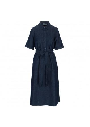 women's dress bioneuma blue denim