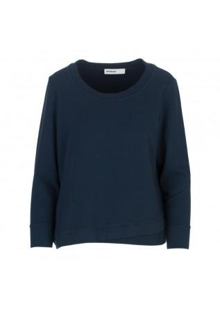 damen sweatshirt bioneuma albarella blau