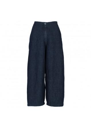 pantaloni donna bioneuma chambry blu