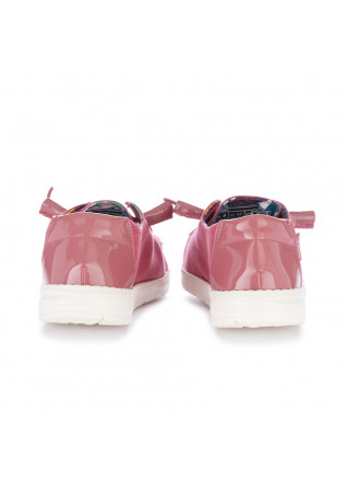 WOMEN'S FLAT SHOES HEY DUDE SHOES | WENDY PASTEL PINK
