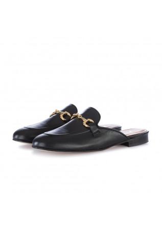 women's slipper nouvelle femme nappa black
