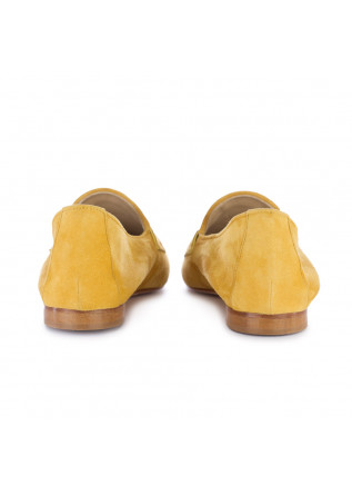 WOMEN'S LOAFERS NOUVELLE FEMME   430 SUEDE YELLOW