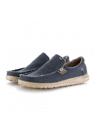 scarpe basse uomo hey dude mikka braided blu