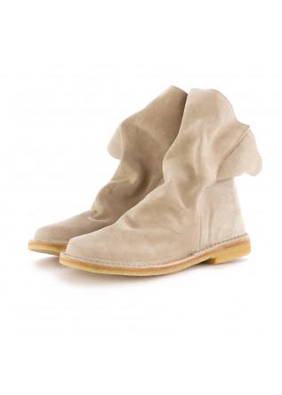 damen stiefel manufatto toscano vinci beige  wildleder
