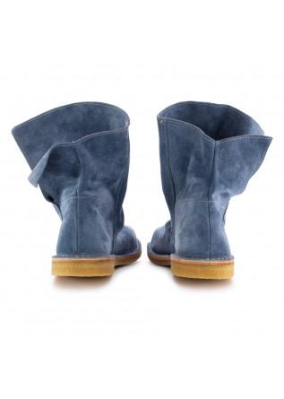 WOMEN'S BOOTS MANUFATTO TOSCANO VINCI | BLUE SUEDE