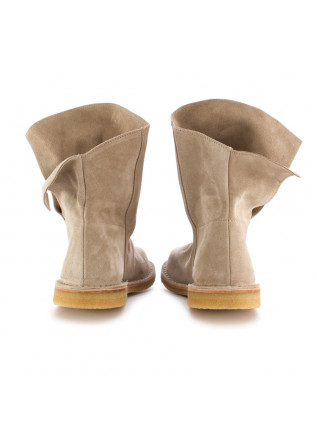 WOMEN'S BOOTS MANUFATTO TOSCANO VINCI | 81 VELUR LIGHT BROWN