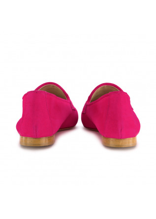 WOMEN'S LOAFERS NOUVELLE FEMME | 430 SUEDE FUCHSIA