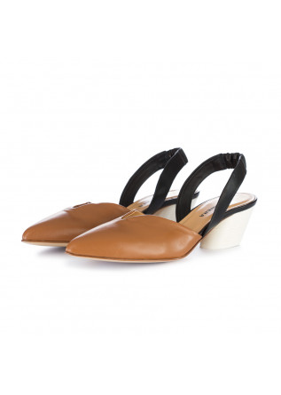 damen sandalen halmanera braun schwarz