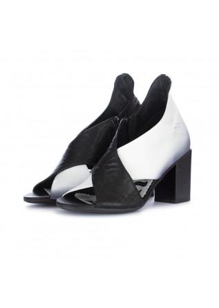 sandali donna papucei narcisa nero bianco