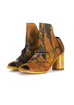 sandali donna papucei mora giallo nero