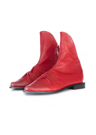 women's ankle boots papucei ioana red