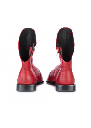 WOMEN'S ANKLE BOOTS PAPUCEI | IOANA RED