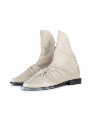 women's ankle boots papucei ioana beige pearl
