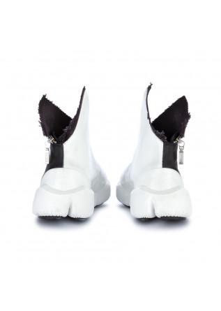 WOMEN'S ANKLE BOOTS PAPUCEI | SORANA BLACK WHITE