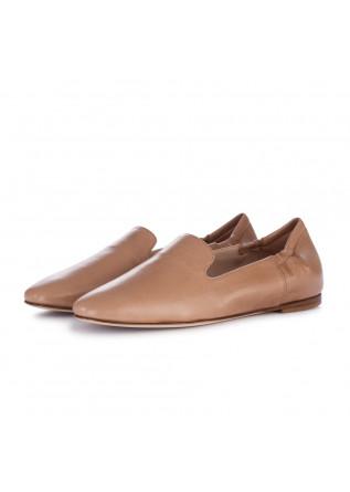 women's loafers lorena paggi glove brown