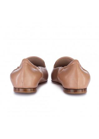 WOMEN'S LOAFERS LORENA PAGGI | GLOVE SAND BROWN