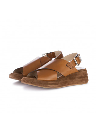 women's sandals sofia len murano cinnamon brown