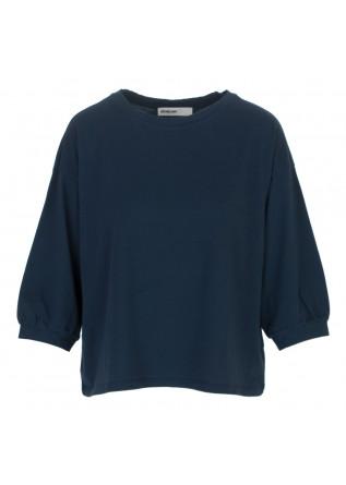 t-shirt donna bioneuma ponza blu