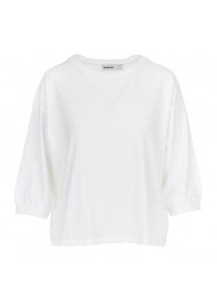 t-shirt donna bioneuma ponza bianco