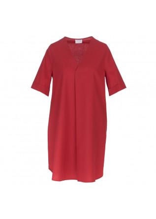 abito donna 1978 calliope popeline rosso