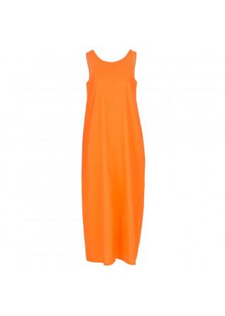 abito donna 1978 rita popeline arancione fluo