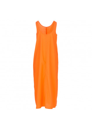 DAMENKLEID 1978 | RITA POPELINE ORANGE FLUO