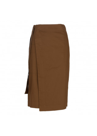 women's skirt 1978 wallet gabardine brown