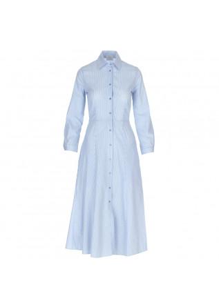 abito donna 1978 maddalena rigatino bianco blu