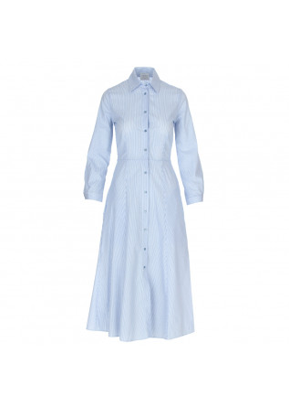 women's dress 1978 maddalena rigatino white blue