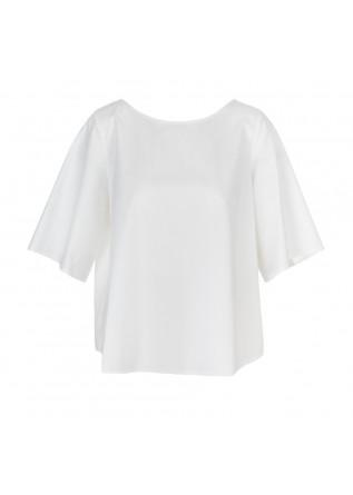 camicia donna 1978 blanche popeline bianco