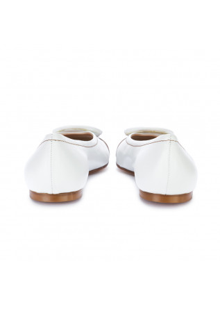 WOMEN'S FLAT SHOES IL BORGO FIRENZE | IMPERO WHITE