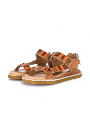sandali donna bng real shoes l etnico arancione