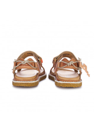 "WOMEN'S SANDALS BNG REAL SHOES | ""L'ETNICO"" ORANGE"