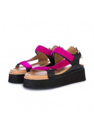 womens sandals bng real shoes fuchsia