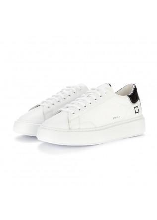sneakers donna date bianco nero