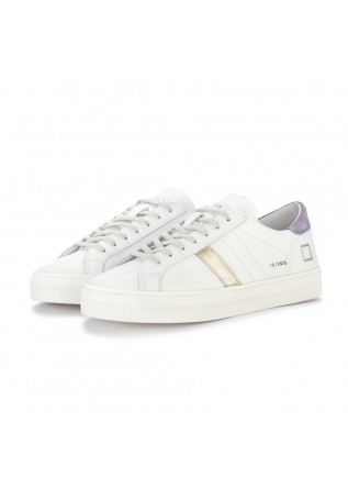 sneakers donna date vintage bianco lilla