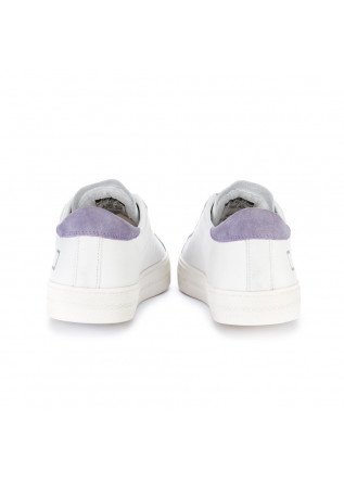 SNEAKERS DONNA D.A.T.E.   HILL LOW VINTAGE BIANCO LILLA