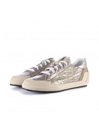 sneakers donna andia fora metalizzato