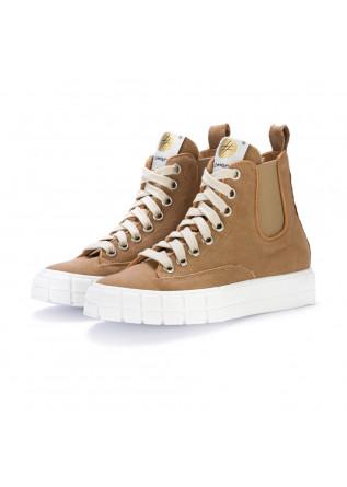 womens sneakers lemare safari brown