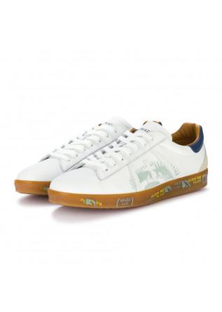 mens sneakers premiata andy white blue