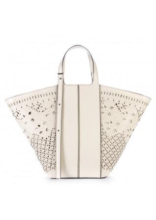 handbag gianni chiarini white marble