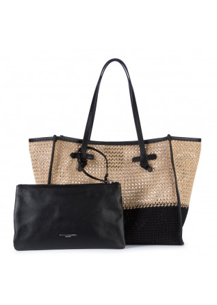 WOMEN'S SHOPPER BAG GIANNI CHIARINI | MARCELLA CANABIC BLACK