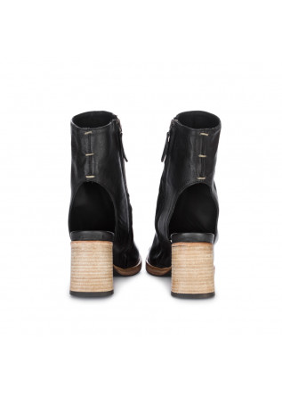 WOMEN'S OPEN-TOE ANKLE BOOTS ERNESTO DOLANI | CARNABY BLACK