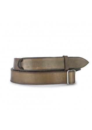 mens belt orciani no buckle dive londra brown
